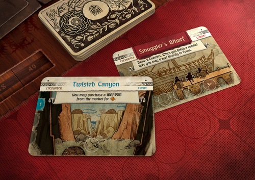 Cartas de eventos de Hand of fate: Ordeal