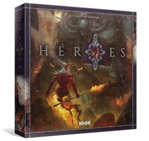 Portada de Heroes de Edge entertainment