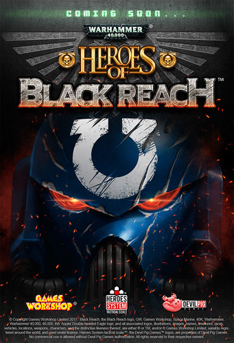 Poster de Heroes of Black Reach