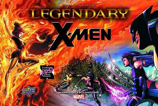 Portada de la expansión para Marvel Legendary X-Men