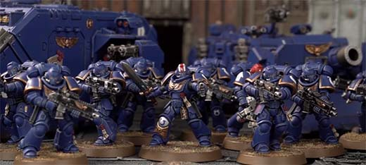 Ejercito de Primaris Space Marines