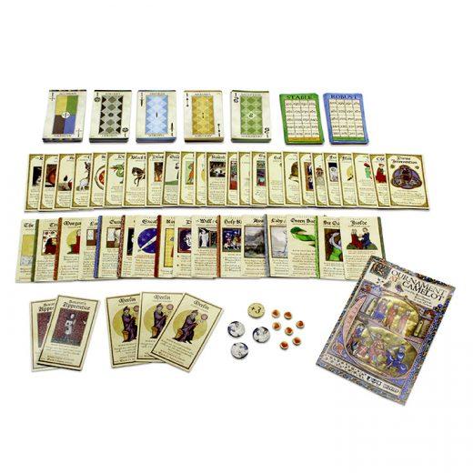 Componentes de Tournament at Camelot