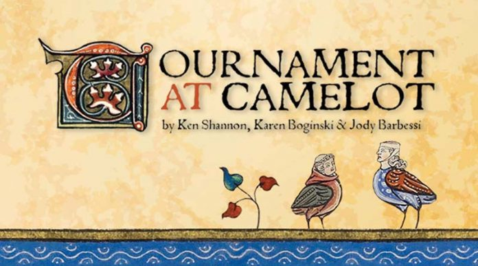 Logotipo de Tournament a Camelot