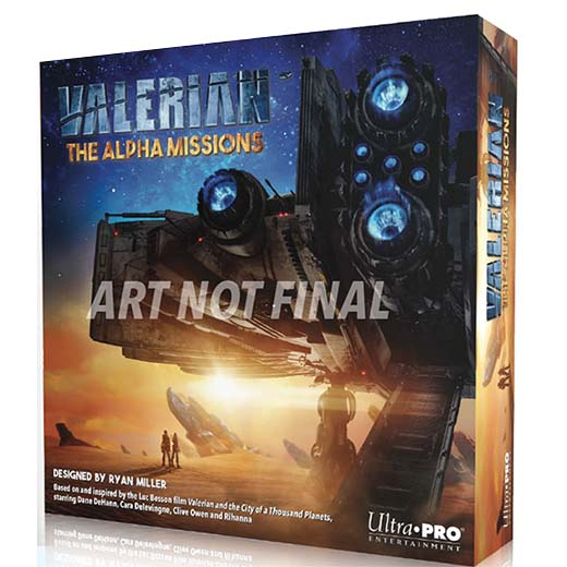 Portada provisional de Valerian the alpha missions