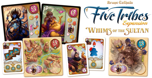 Componentes de ejemplo de Whims of the Sultan