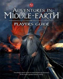 Portada de Adventures in Middle Earth Player Guide