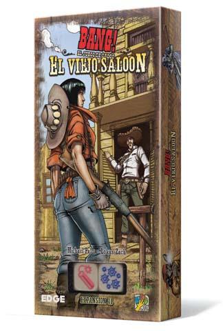 Portada de la expansion para dice bang! el viejo saloon
