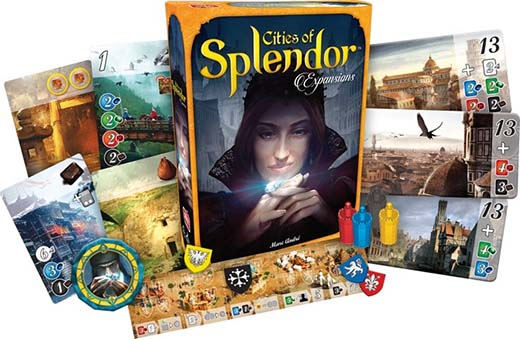 Componentes de Cities of Splendor