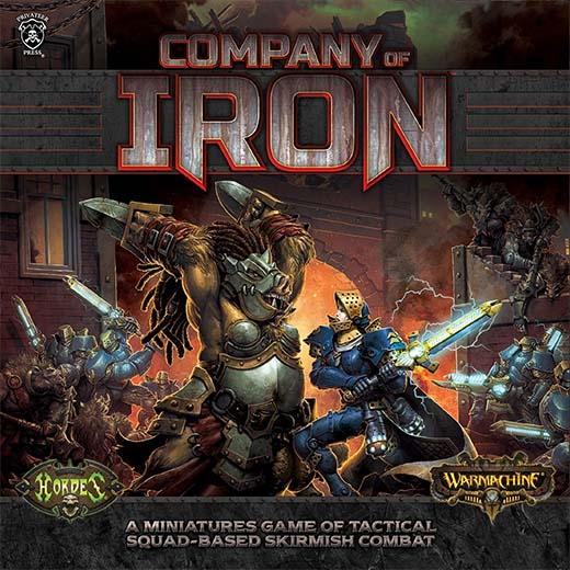 Portada de Company of Iron