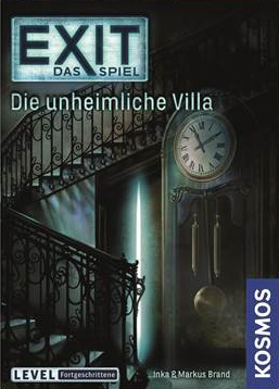 Portada de EXIT: The Game - Die unheimliche Villa