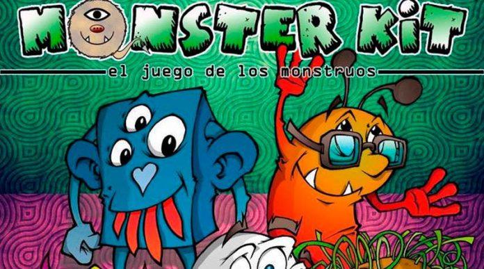 Fragmento de la portada de monster kit segunda edición