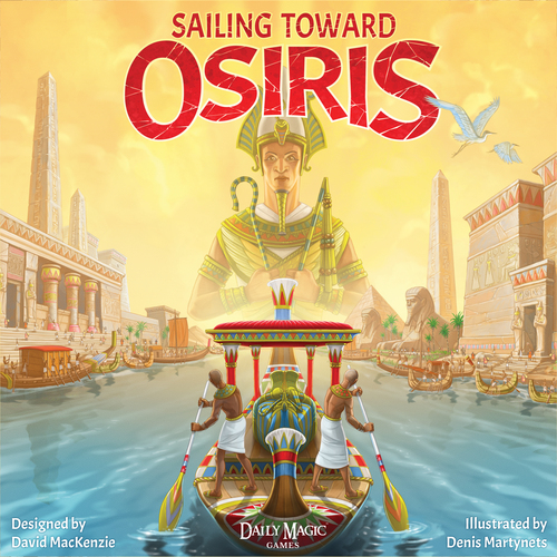 Portada de Sailing Toward Osiris