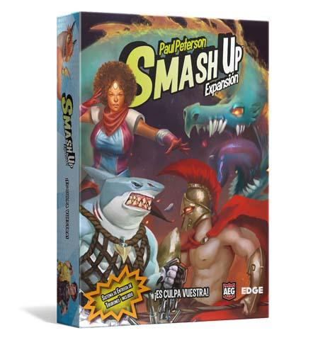 portada de la expansión de smash up la culpa es vuestra