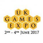 Logotipo de los uk games expo awards 2017