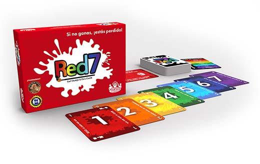 Componentes de red7 de tranjis games
