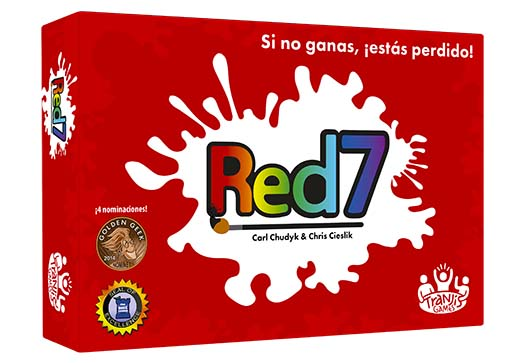 Caja de red7 de tranjis games
