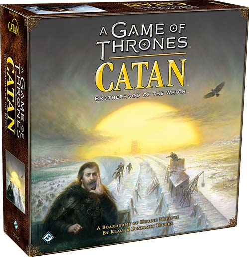Portada de A Game of Thrones Catan: Brotherhood of the Watch