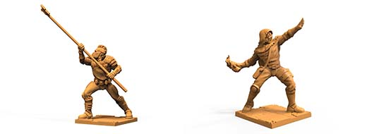 Miniaturas exclusivas del Kickstarter de Iron Wars