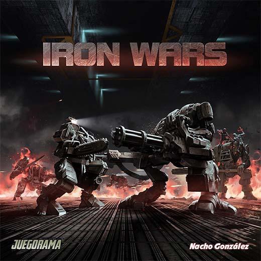 Portada del juego de mesa Iron Wars