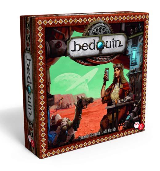 caja del juego de mesa bedouin