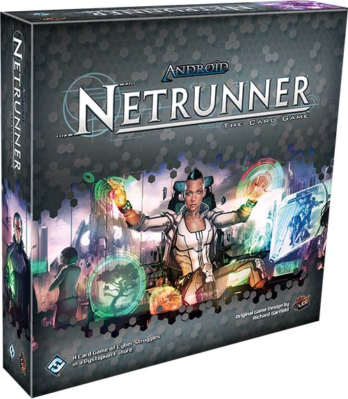 Portada del nuevo revised core de Android Netrunner