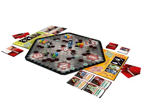 Componentes del juego de mesa Aristeia