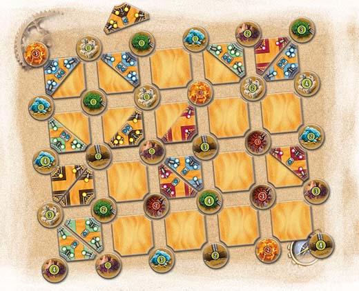 Ejemplo de una partida a Bedouin