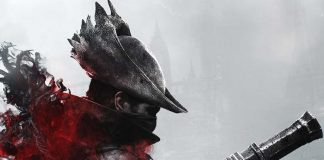 Detalle de la portada de la expansion the hunter nightmare para Bloodborne the card game