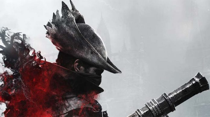 Detalle de la portada de la expansion the hunter nightmare para Bloodborne the card game