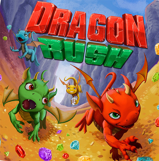 Portada de Dragon rush