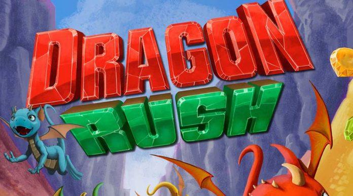 Logotipo de dragon rush