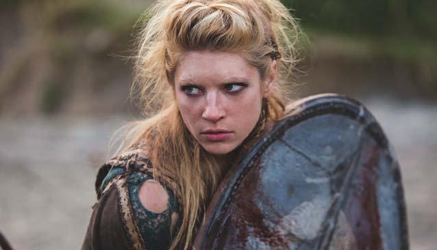 Guerrera en serie Vikingos