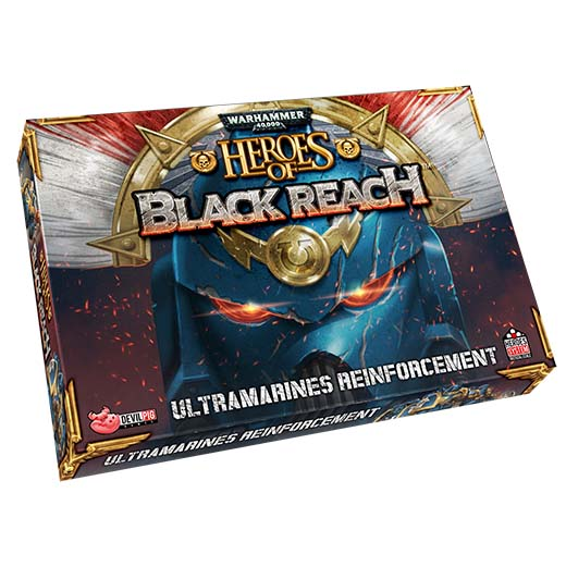refuerzos ultramarines para heroes of black reach