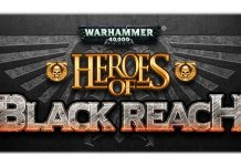 logotipo de heroes of black reach
