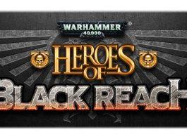 logotipo de heroes of black reach