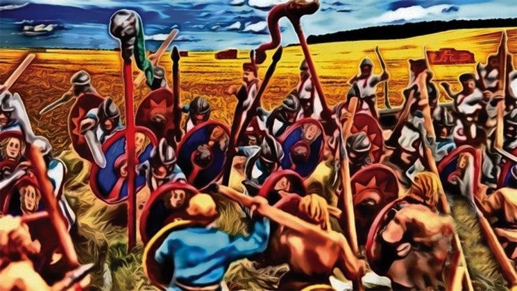 Ilustración del juego La caída de Hispania