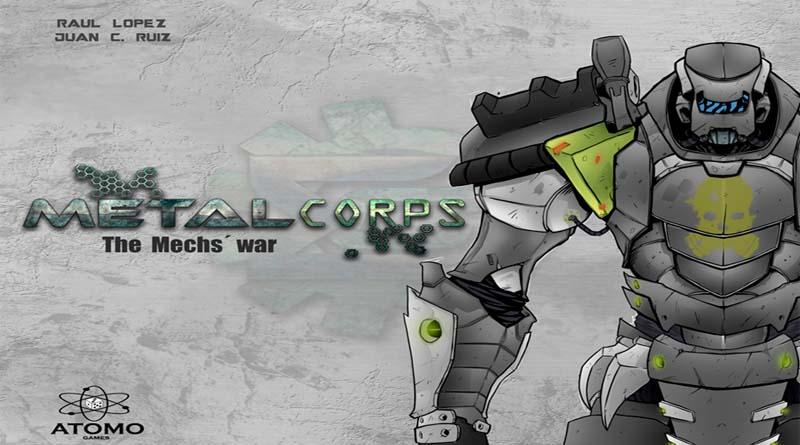 Portada de Metalcorps de Atomo games
