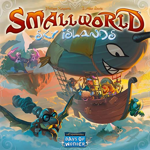 Portada de Small World Sky islands