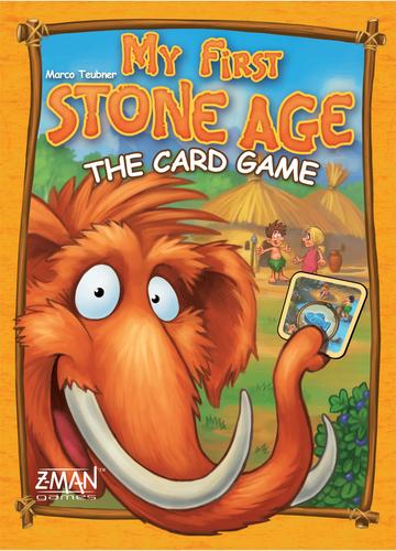 Portada de stone age junior el juego de cartas
