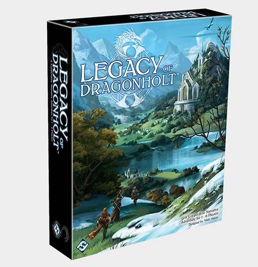Portada de Legacy of Dragonholt