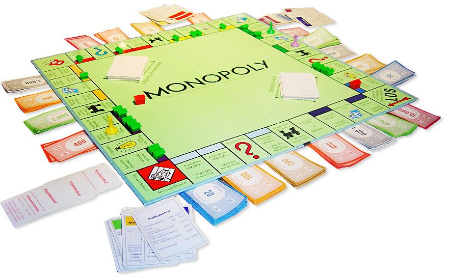 Contenido de Monopoly