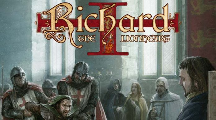 Arte del juego richard the lionheart