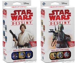 Starter packs de Star wars: Destiny Legacies