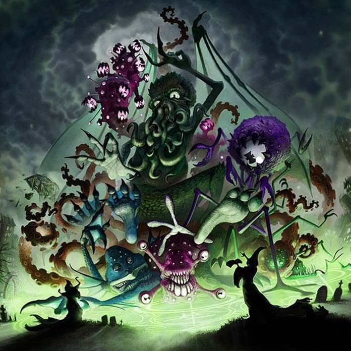 Arte gráfico de A'Writhe: A Game of Eldritch Contortions