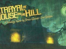 Logotipo del juego Betrayal at house on the hill