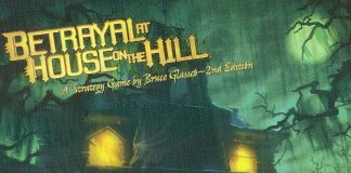 Logotipo del juego Betrayal at house on the hill