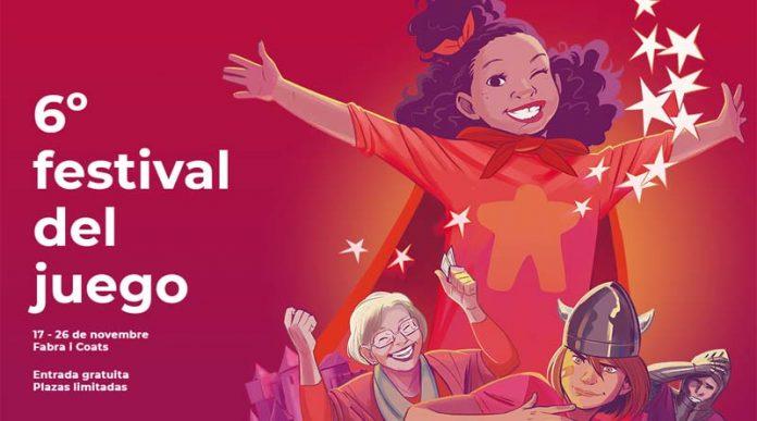 Cartel de la sexta edición del festival DAU de Barcelona