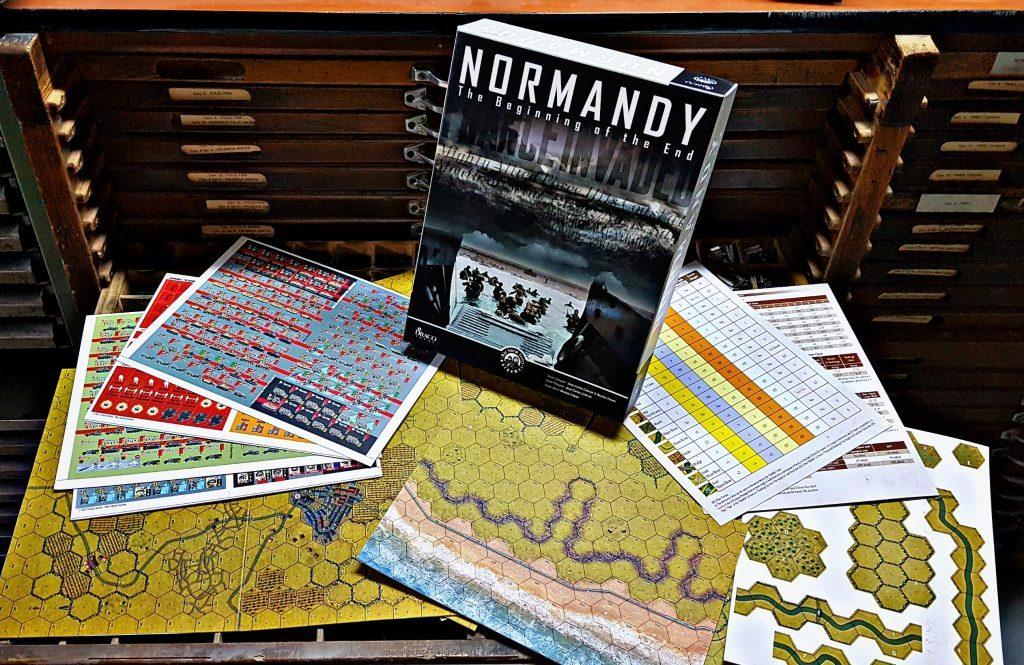 Componetes del juego Normandy