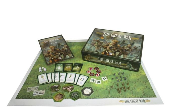 Contenido de La Gran Guerra de Maldito Games