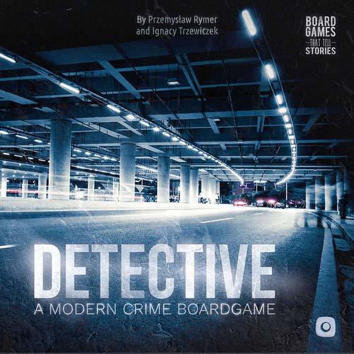 Portada de Detective: A Modern Crime Board Game